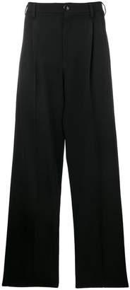 Raf Simons wide-leg trousers