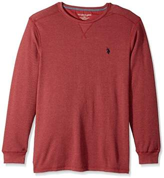 U.S. Polo Assn. Men's Classic Fit Solid Long Sleeve Crew Neck Shirt