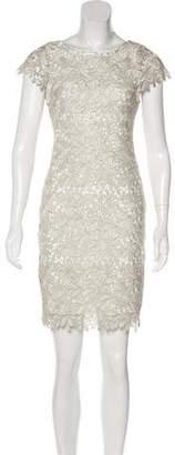 Alice + Olivia Metallic Lace Dress