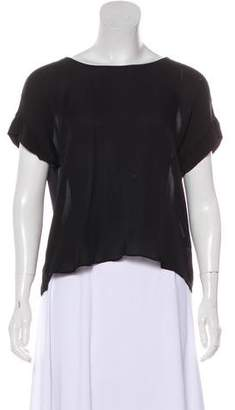 Jenni Kayne Silk Short Sleeve Top