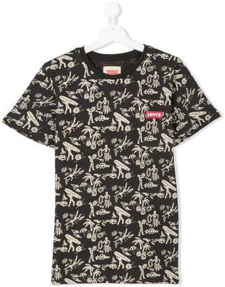 Levi's Kids TEEN printed T-shirt