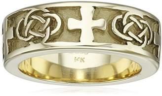 Celtic 14kt Men's Men's Ring
