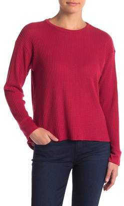 Project Social T Waffle Knit Thermal Sweater