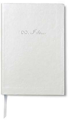 Sloane Stationery I Do - I Do Notebook - White
