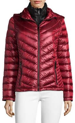 Calvin Klein Packable Down-Filled Zip Puffer Jacket