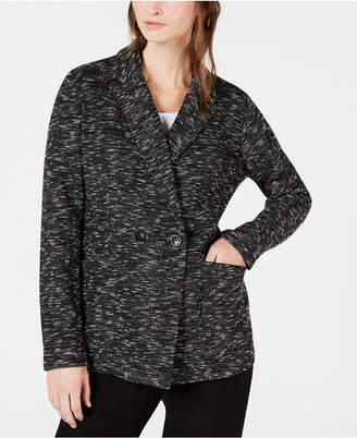 Eileen Fisher Organic Cotton Classic Collar Blazer, Regular & Petite