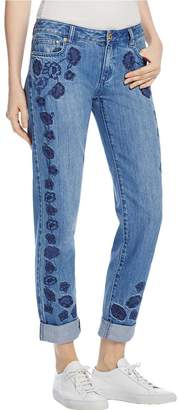 MICHAEL Michael Kors Womens Dillon Relaxed Relaxed Fit Relaxed Jeans Blue