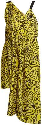 Abstract-print asymmetric tie-waist dress Colville Best Cheap Sale Cheapest Best Store To Get Sale Online DT2jN