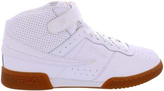 Fila Men's F-13 White/Gum Athletic Sneakers Shoes