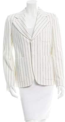 Maison Margiela Wool Pinstripe Blazer w/ Tags
