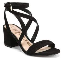 Sam Edelman Sammy Strappy Suede Sandals