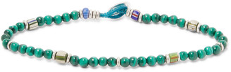 Mikia Malachite Beaded Bracelet