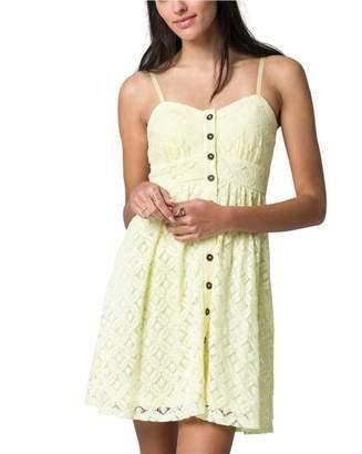 Le Château Women's Lace Sweetheart Summer Dress,S