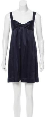 Proenza Schouler Satin Evening Dress