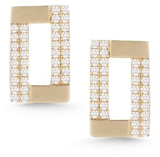 DANA REBECCA 14K Yellow Gold Jeanie Ann Diamond Stud Earrings - 0.35 ctw