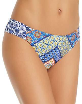 Nanette Lepore Scarf Patchwork Siren Bikini Bottom
