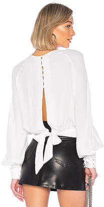 Bardot Tie Back Blouse