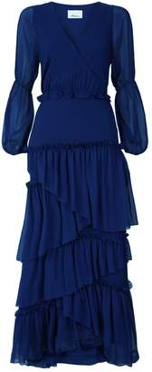 3.1 Phillip Lim Long Sleeve Ruffle Gown