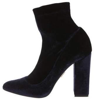 Tamara Mellon Velvet Sock Boots