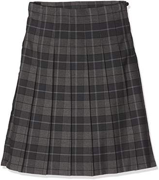 Trutex Girl's GST-CAS-L24-W28 SNR Tartan Kilt Checkered Skirt,(Manufacturer Size:28)