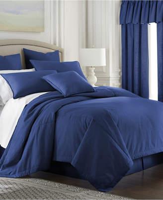 Colcha Linens Cambric Denim Duvet Cover Twin Bedding