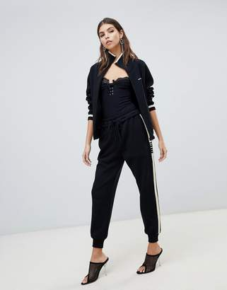 Miss Sixty knitted tracksuit bottoms