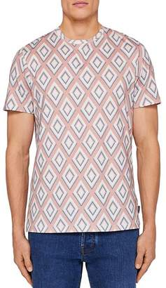 Ted Baker Limited Edition Hexur Geo Print Tee