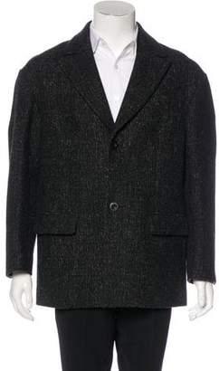 Marc Jacobs Virgin Wool Car Coat