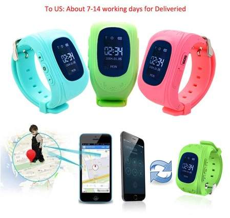 OUTAD Q50 Kids Smart Watch Children GPS Tracker SIM SOS Call Phone for Android iOS