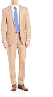 Polo Ralph LaurenPurple Label Silk Shantung Suit