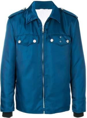 Calvin Klein Oversized zipped shirt jacket