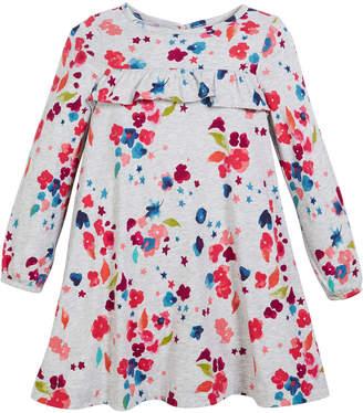 Joules Lana Floral Ruffle Dress, Size 2-6