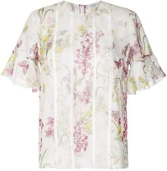 Giambattista Valli floral lace blouse