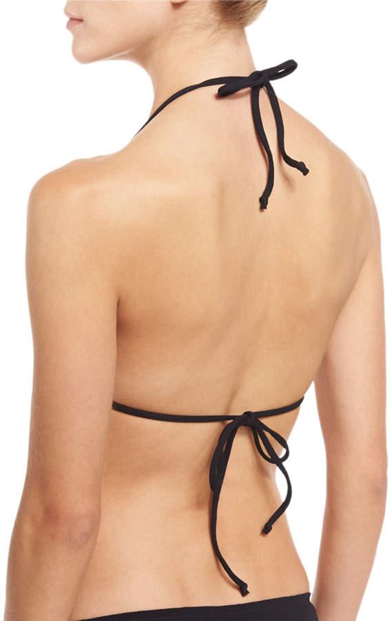 Marysia Broadway Scalloped String Bikini Top 3
