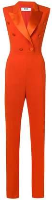 MSGM tuxedo jumpsuit