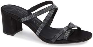 Pedro Garcia Xonia Crystal Embellished Slide Sandal