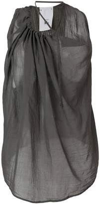 Lost & Found Rooms draped sheer tank top