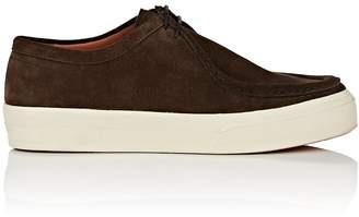 Dries Van Noten Men's Suede Moccasin Sneakers