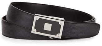 Dunhill Carbon Fiber Leather Belt