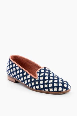 Paige By Sage Bee Needlepoint Loafers