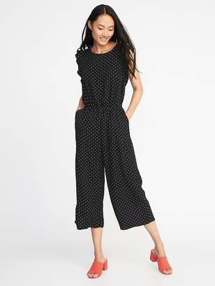 Old Navy Waist-Defined Sleeveless Jumpsuit for Women