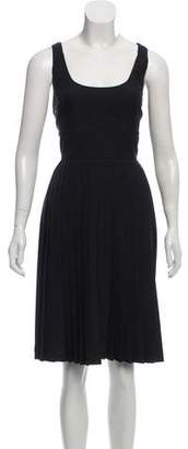 Givenchy Pleated Knee-Length Dress