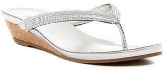 Kenneth Cole Reaction Great Time Embellished Wedge Sandal $49 thestylecure.com