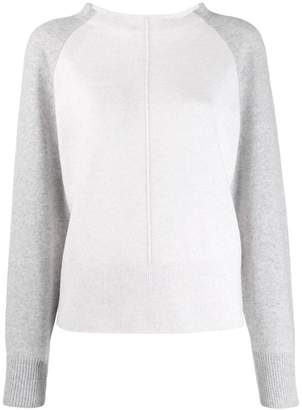 Vince two-tone cashmere sweater