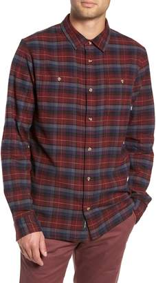 Vans Banfield III Plaid Flannel Shirt