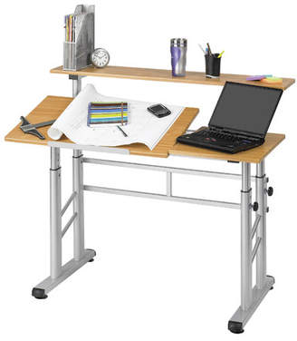 Safco Products Split Level Workstation Drafting Table