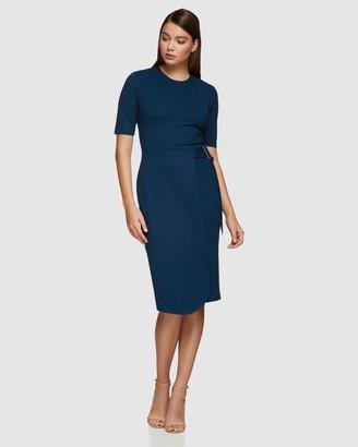 Oxford Bae Ponti Dress