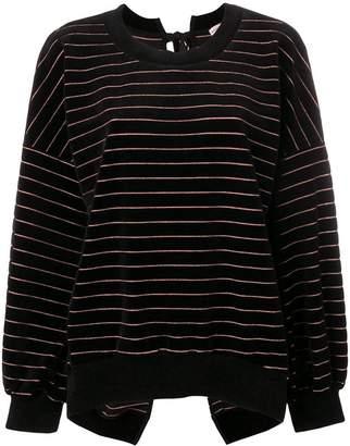 Sonia Rykiel striped long-sleeve sweater