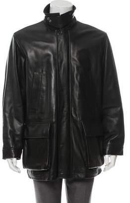 Polo Ralph Lauren Leather Cargo Jacket