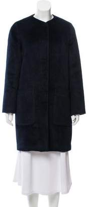 Steven Alan Alpaca Blend Wool Coat